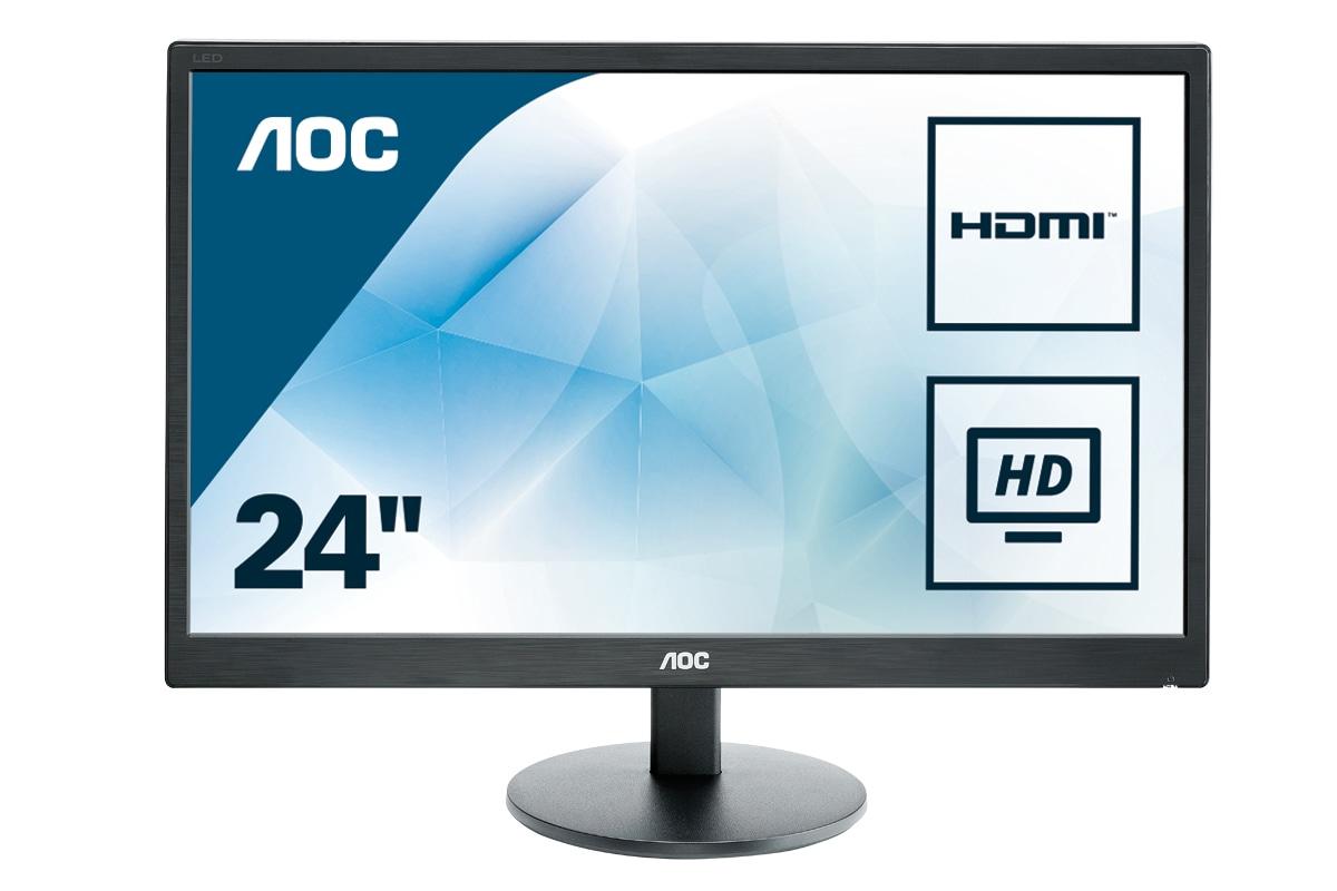 Desktop Monitor - E2470SWHE - 23.6in - 1920x1080 (Full HD) - 5ms