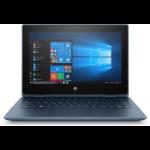 "HP ProBook x360 11 G5 EE Hybrid (2-in-1) 29.5 cm (11.6"") 1366 x 768 pixels Touchscreen Intel® Pentium® Silver 4 GB DDR4-SDRAM 128 GB SSD Wi-Fi 5 (802.11ac) Windows 10 Home Blue"