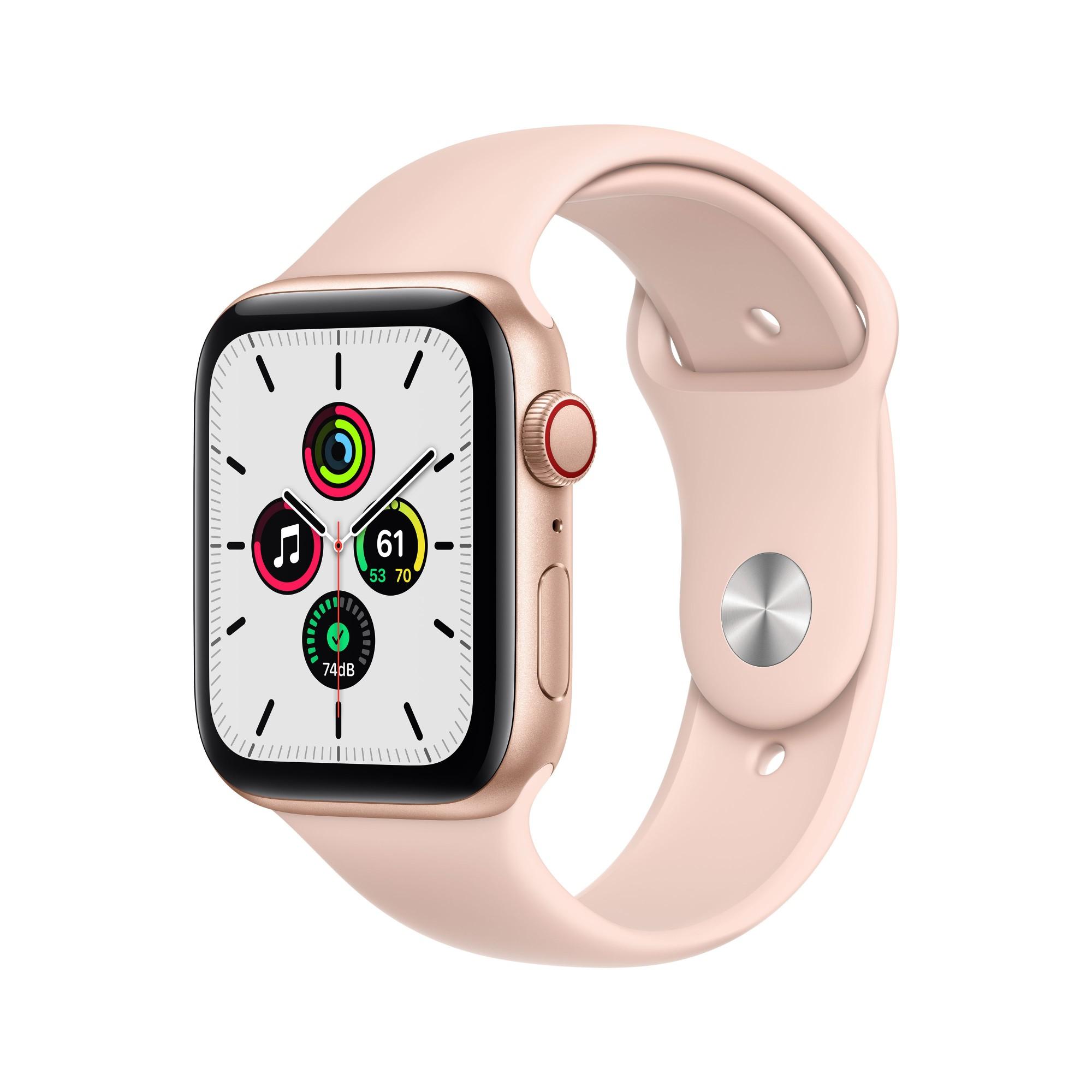 Apple Watch SE OLED 44 mm Oro 4G GPS (satélite)