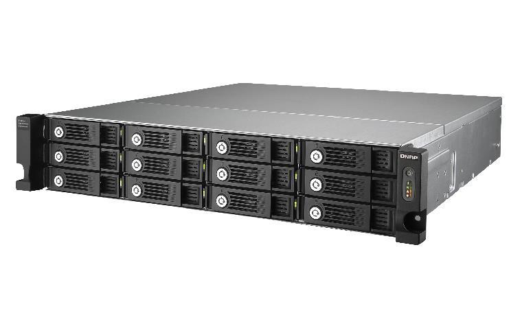 QNAP UX-1200U-RP/96TB-TE 12 Bay Exp