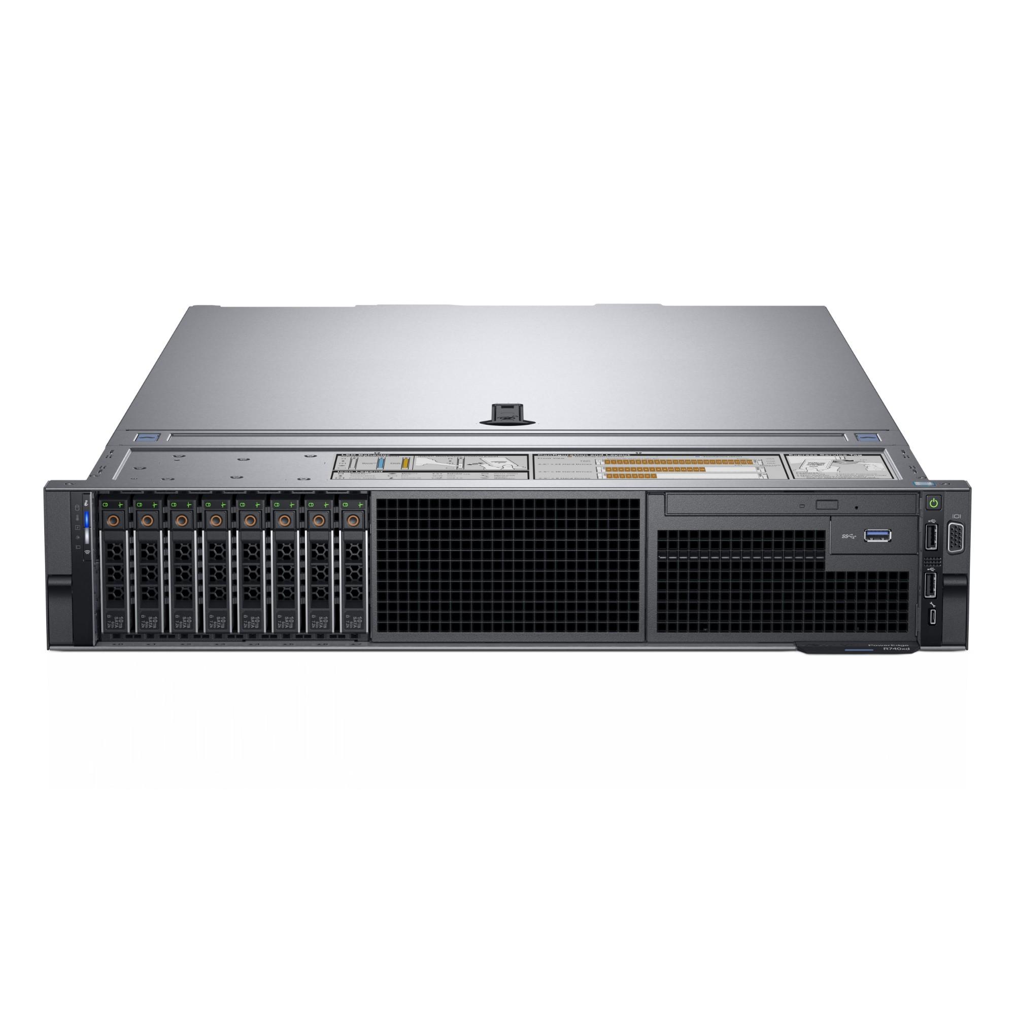 DELL R740 server 2 1 GHz Intel Xeon Silver 4110 Rack (2U) 750 W