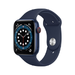 Apple Watch Series 6 44 mm OLED 4G Blue GPS (satellite)