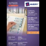Avery 1640061 self-adhesive label Yellow Rectangle Permanent