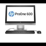 "HP ProOne 600 G2 3.2GHz i5-6500 21.5"" 1920 x 1080Pixels Touchscreen Zwart, Zilver Alles-in-één-pc"