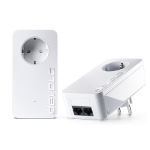 Devolo dLAN 1000 duo+ 1000Mbit/s Ethernet LAN Wit 2stuk(s) PowerLine-netwerkadapter