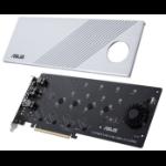 ASUS Hyper M.2 x16 Gen 4 Card interface cards/adapter Internal