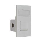 Videk 5531E White switch plate/outlet cover