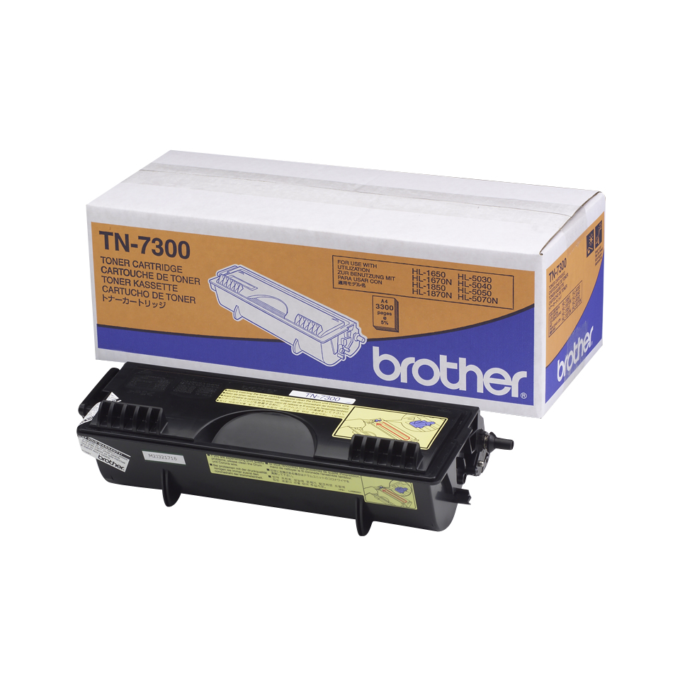 Brother TN-7300 Toner black, 3.3K pages @ 5% coverage