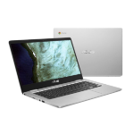 "ASUS Chromebook C423NA-EB0063 Zilver 35,6 cm (14"") 1366 x 768 Pixels Intel® Pentium® N4200 4 GB LPDDR4-SDRAM 64 GB eMMC"