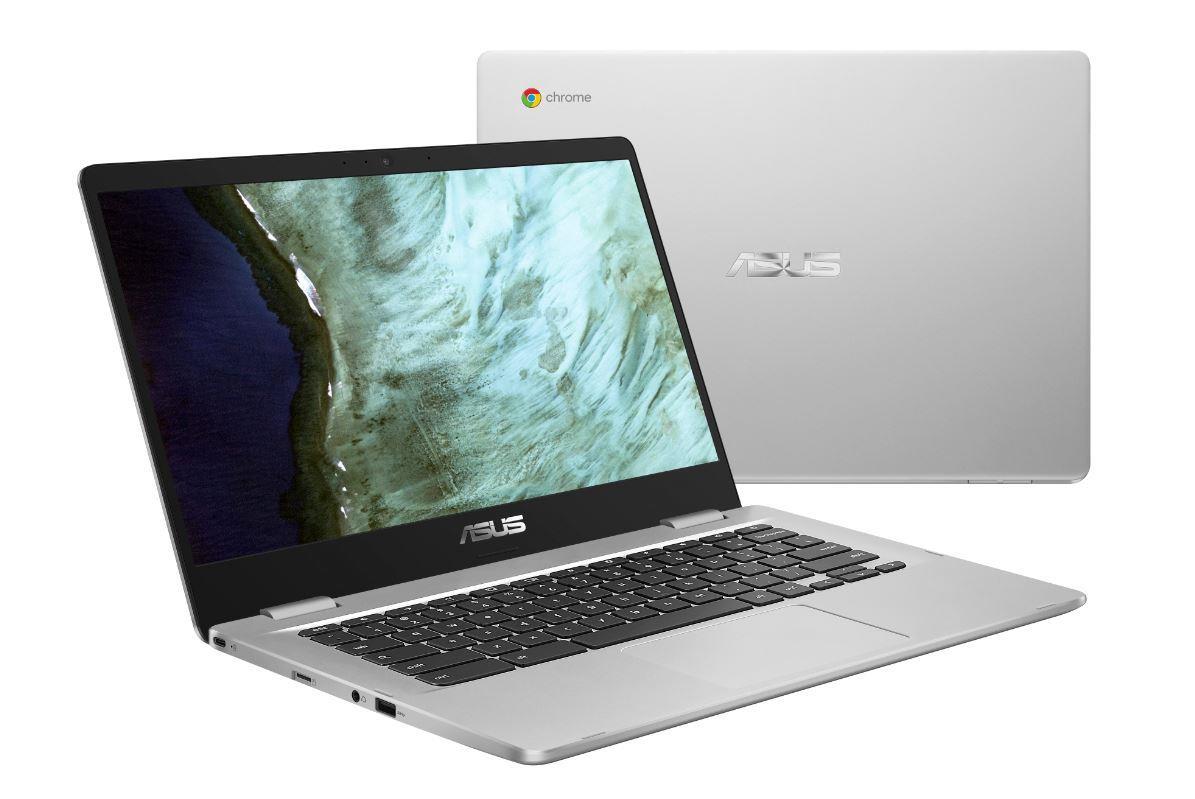 "ASUS Chromebook C423NA-EB0063 Zilver 35,6 cm (14"") 1920 x 1080 Pixels Intel® Pentium® N4200 4 GB LPDDR4-SDRAM 64 GB eMMC"