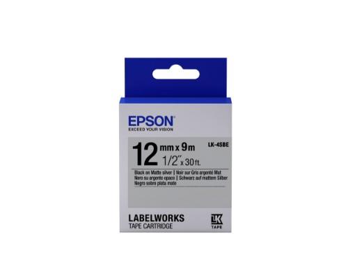 Epson C53S654017 (LK-4SBE) DirectLabel-etikettes, 12mm x 9m