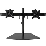 "StarTech.com ARMBARDUO monitor mount / stand 24"" Freestanding Black"