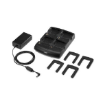 Zebra 4-Slot Cradle Kit Indoor Black mobile device charger