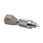 Tripp Lite T020-001-LC62 fiber optic adapter FC/LC 1 pc(s) Beige, Silver