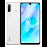 """Huawei P30 Lite 15.6 cm (6.15"""") 4 GB 128 GB Hybrid Dual SIM White 3340 mAh"""
