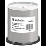 Verbatim CD-R Thermal Printable No ID Brand CD-R 700MB 100pc(s)