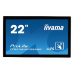 "iiyama ProLite TF2234MC-B3AGB touch screen monitor 54.6 cm (21.5"") 1920 x 1080 pixels Black Multi-touch Multi-user"