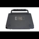 Gamber-Johnson 7160-1585-02 toetsenbord voor mobiel apparaat Zwart Pogo Pin Duits