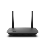Linksys E5400 wireless router Dual-band (2.4 GHz / 5 GHz) Fast Ethernet Black