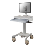 Newstar MED-M150 Notebook Multimedia cart Grijs multimediawagen & -steun