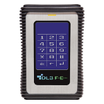DataLocker DL3 FE 128GB 128GB Black,Stainless steel