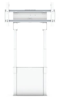 SMS Smart Media Solutions FMT091002 flat panel floorstand Fixed flat panel floor stand White