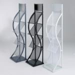 Metroplan Wave Steel Black filing cabinet