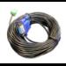 Vivolink VLCPARS232/25M serial cable Black RS-232
