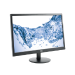 "AOC E2470SWH 23.6"" Black computer monitor LED display"
