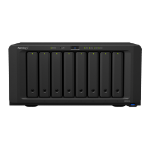 Synology DiskStation DS1819+ data-opslag-server C3538 Ethernet LAN Tower Zwart NAS