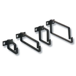 Cablenet 100mm x 75mm Cable Management Ring Black