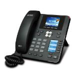 PLANET VIP-2140PT IP phone Black 4 lines LCD