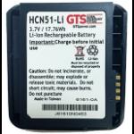 GTS HCN51-LI pieza de repuesto para ordenador de bolsillo tipo PDA Batería