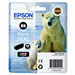 Epson C13T26314010 (26XL) Ink cartridge bright black, 400 pages, 9ml