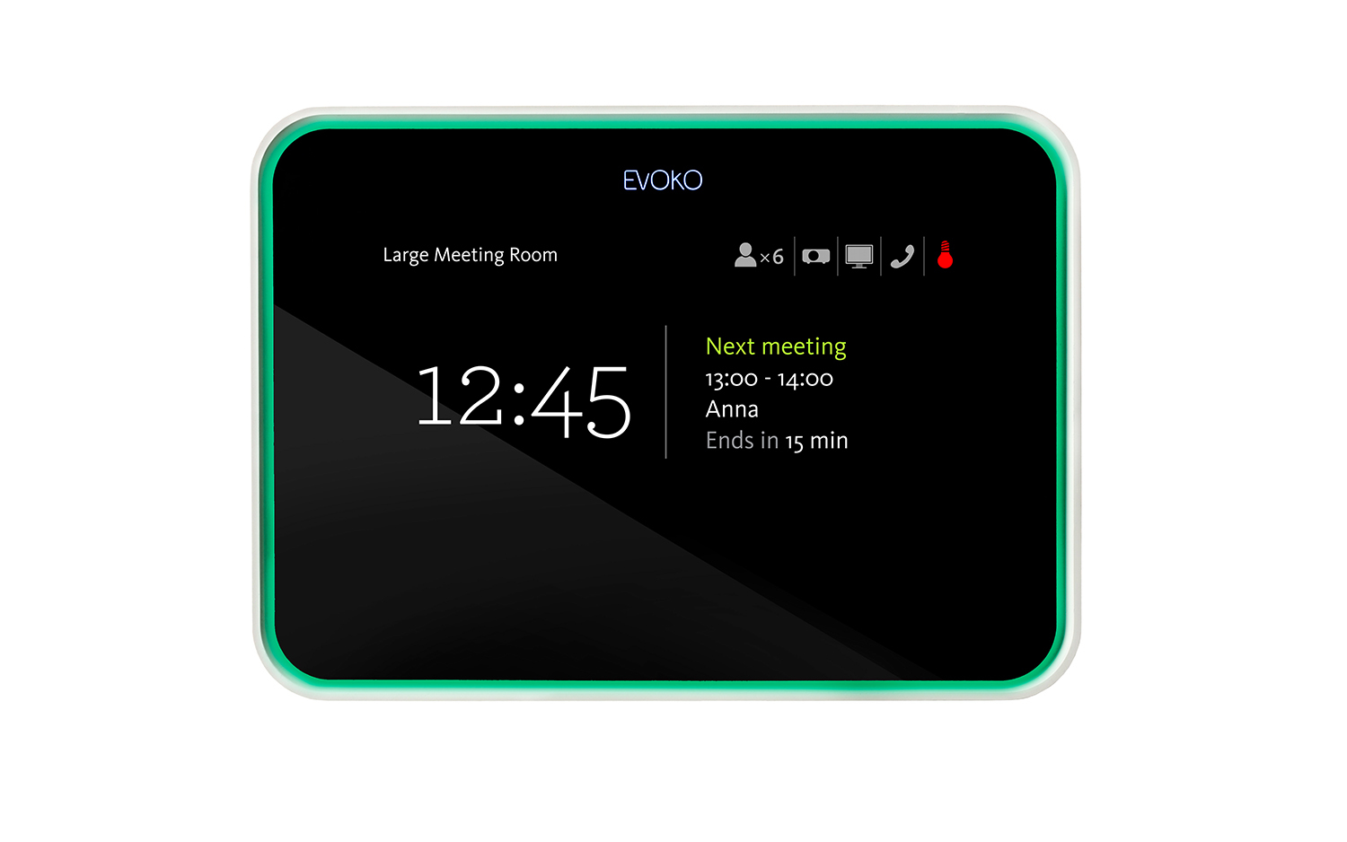 "Evoko Room Manager 8"" Tabletop touch screen monitor"