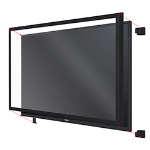 "Toshiba TOUCH-65-10P-IR 65"" Multi-touch USB touch screen overlay"