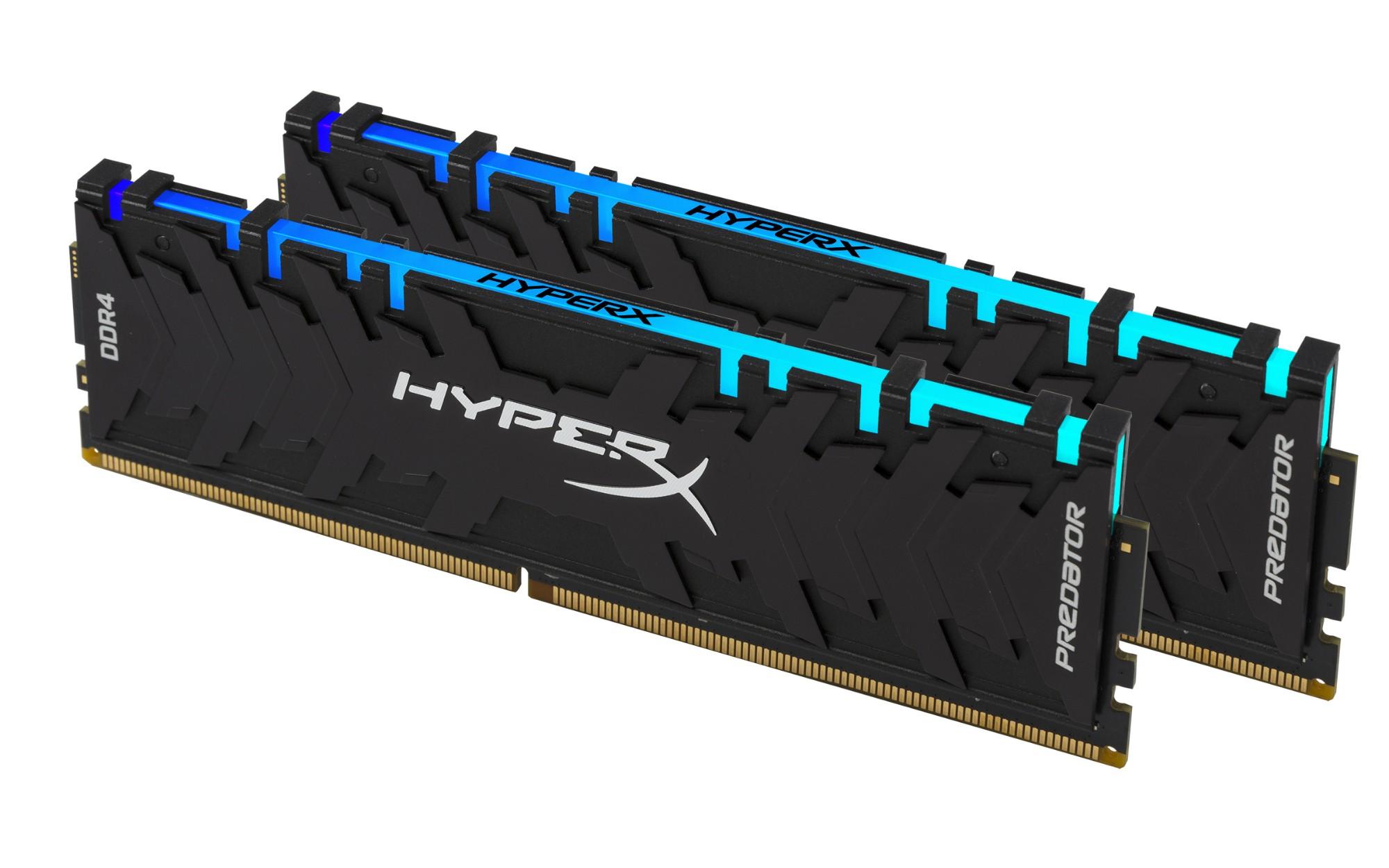 DDR4 2933MHz 16GB 2x8 HyperX Pred RGB