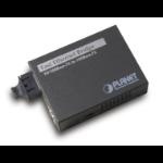 Planet FT-802 network media converter 100 Mbit/s 1310 nm Multi-mode,Single-mode Black
