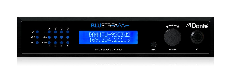 Blustream DA44AU audio converter Black