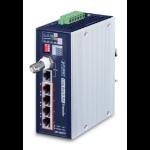 PLANET LRP-104CET network extender Network transmitter Blue, White 10, 100 Mbit/s