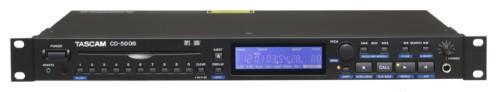 Tascam CD-500B CD player Black
