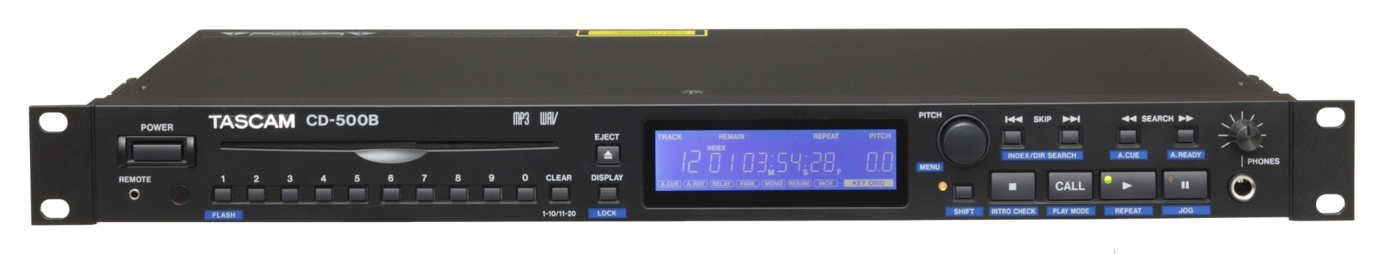 Tascam CD-500B CD player Black
