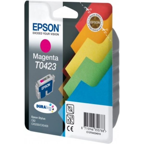 Epson C13T04234010 (T0423) Ink cartridge magenta, 420 pages, 16ml