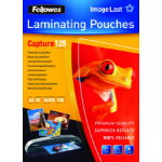 Fellowes ImageLast A3 125 Micron Laminating Pouch - 25 pack laminator pouch