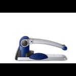 Rexel HD2300X Ultra Heavy Duty 2 Hole Punch Silver/Blue