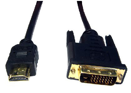 Cables Direct 3m HDMI-DVI-D Black