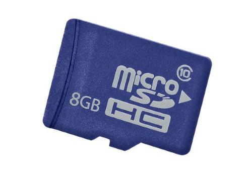 Hewlett Packard Enterprise 8GB microSD memory card Class 10