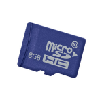Hewlett Packard Enterprise 8GB microSD memory card Class 10