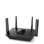 Linksys EA8300 wireless router Tri-band (2.4 GHz / 5 GHz / 5 GHz) Gigabit Ethernet Black