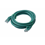 8WARE Cat 6a UTP Ethernet Cable, Snagless  - 2m Green